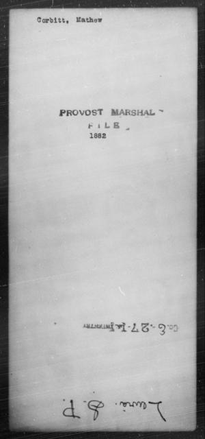 Corbitt, Mathew - State: [Blank] - Year: [Blank]