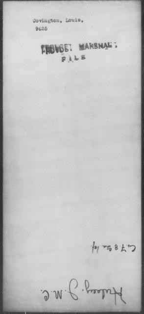 Covington, Louis - State: [Blank] - Year: [Blank]