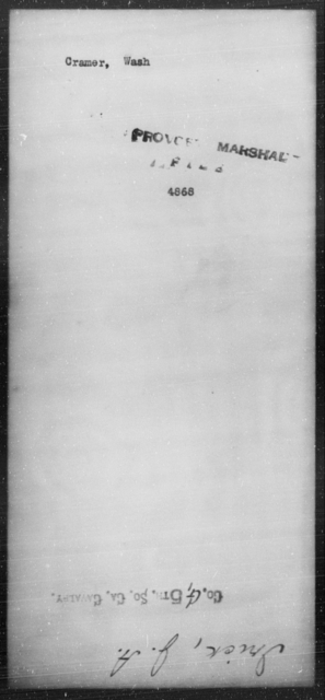 Cramer, Wash - State: [Blank] - Year: [Blank]