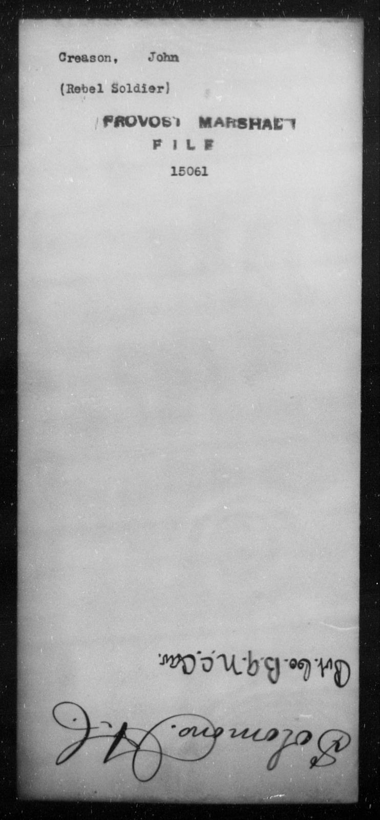 Creason, John - State: [Blank] - Year: [Blank]