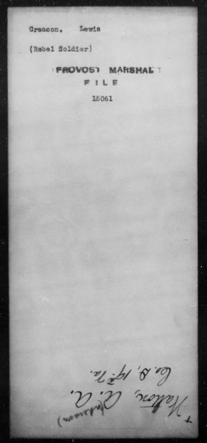 Creason, Lewis - State: [Blank] - Year: [Blank]