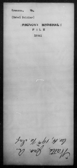 Creason, Wm - State: [Blank] - Year: [Blank]