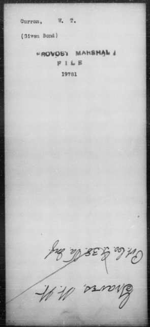 Curran, W T - State: [Blank] - Year: [Blank]
