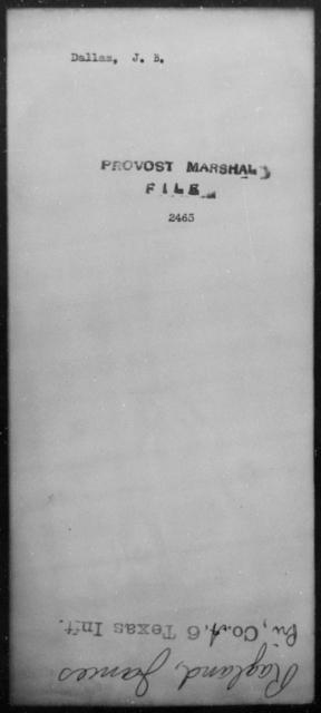 Dallas, J B - State: [Blank] - Year: 1865