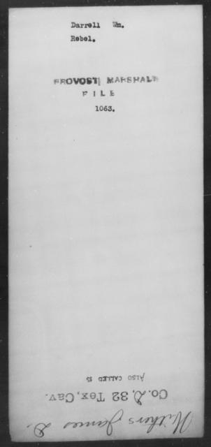 Darrell, Wm - State: [Blank] - Year: [Blank]