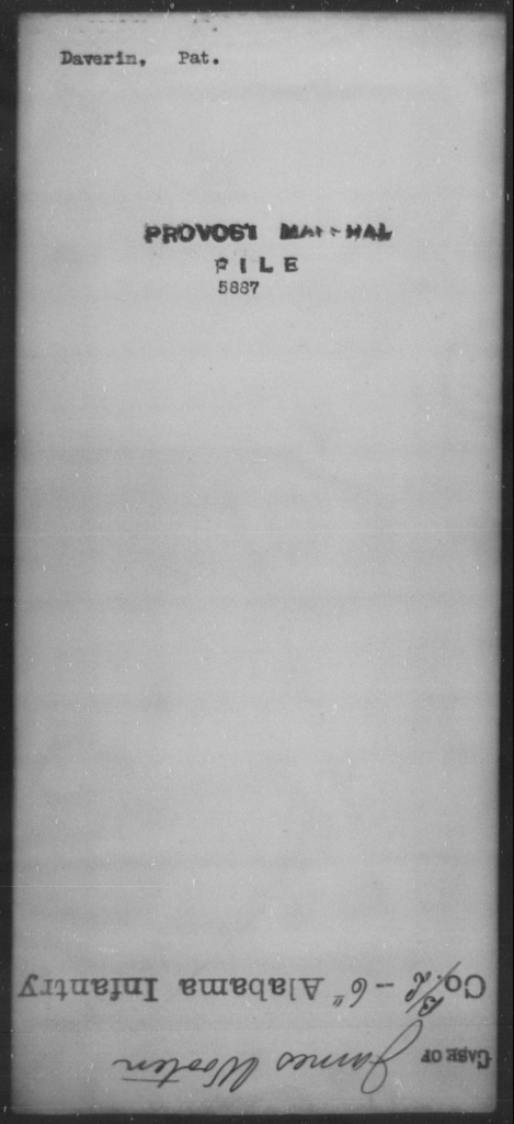 Daverin, Pat - State: [Blank] - Year: [Blank]