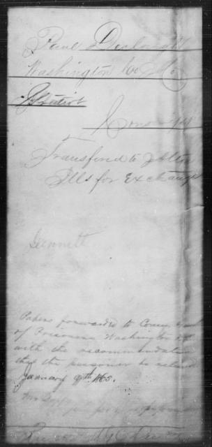 Declough, Paul - State: Missouri - Year: 1865