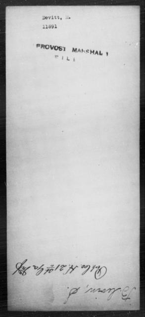 Devitt, M - State: [Blank] - Year: [Blank]
