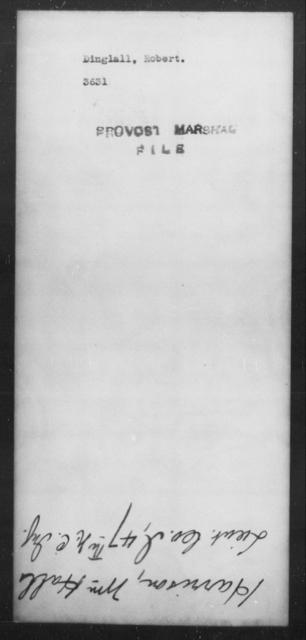 Dinglall, Robert - State: [Blank] - Year: [Blank]