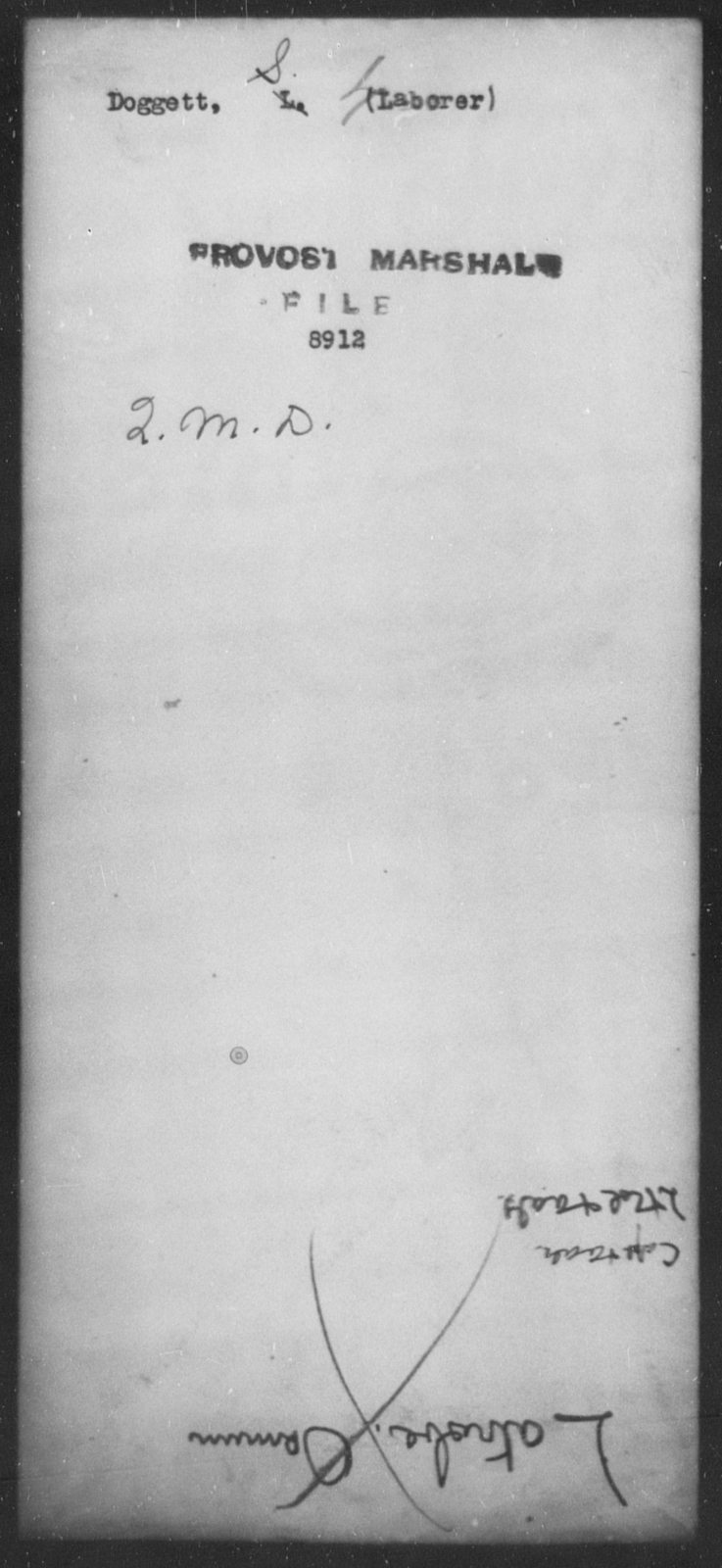 Doggett, S - State: [Blank] - Year: [Blank]