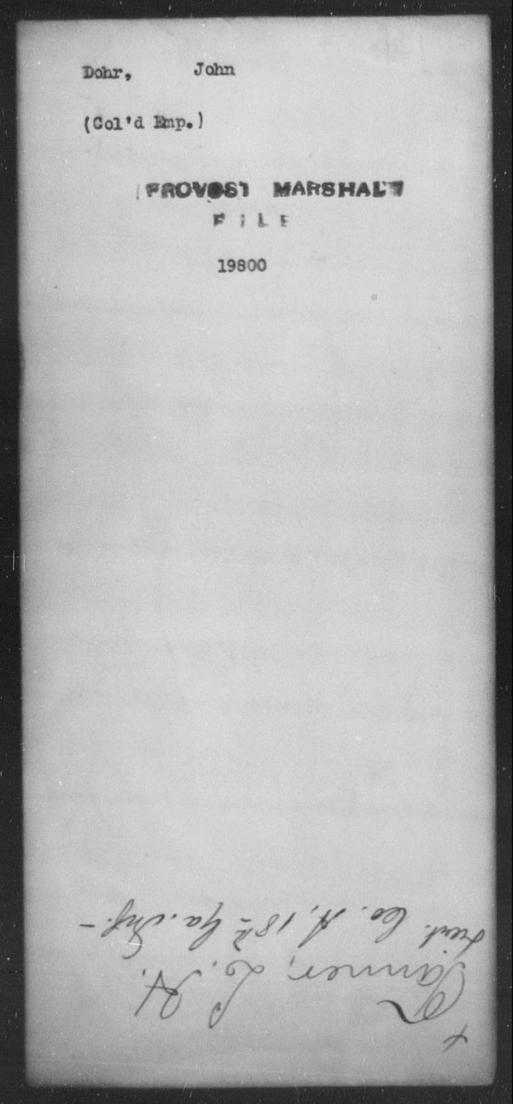 Dohr, John - State: [Blank] - Year: [Blank]