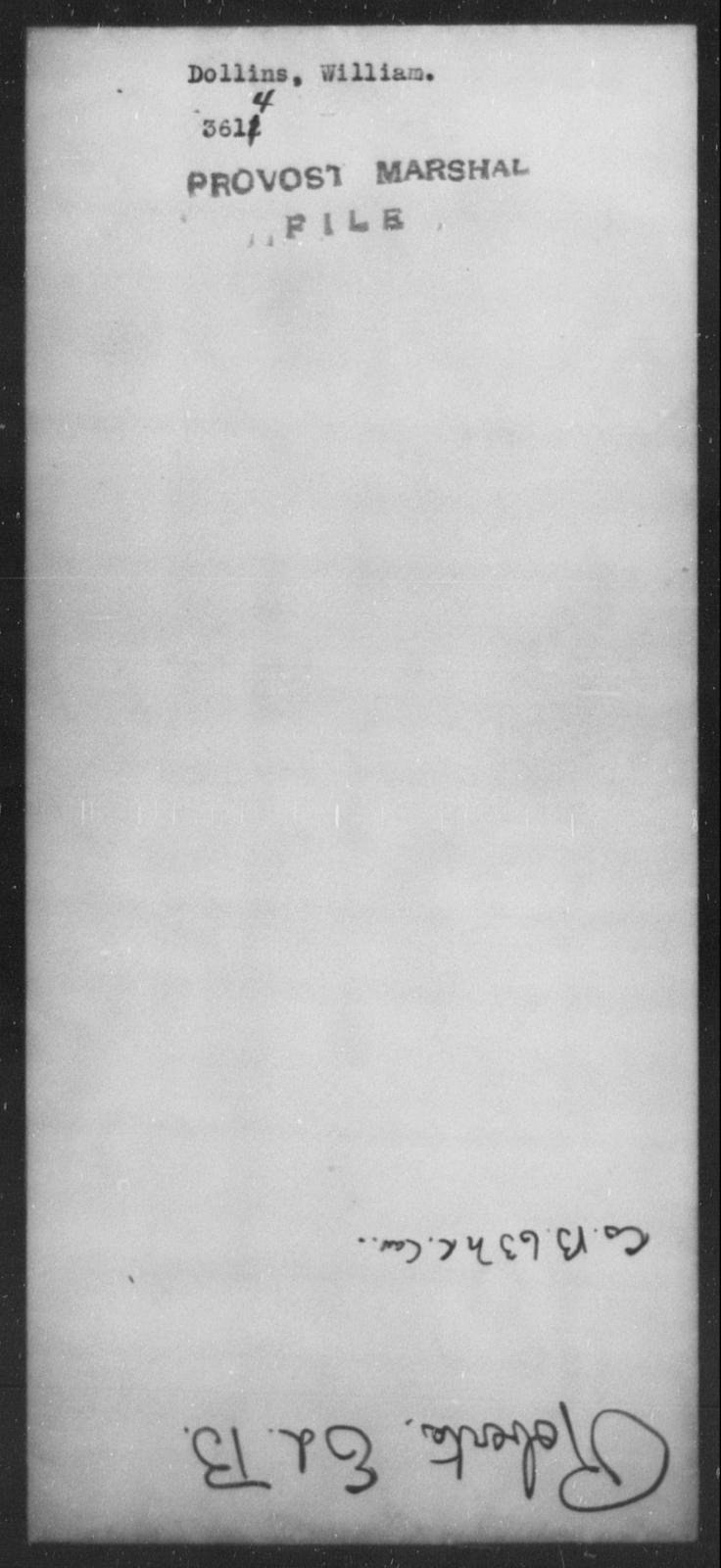 Dollins, William - State: [Blank] - Year: [Blank]
