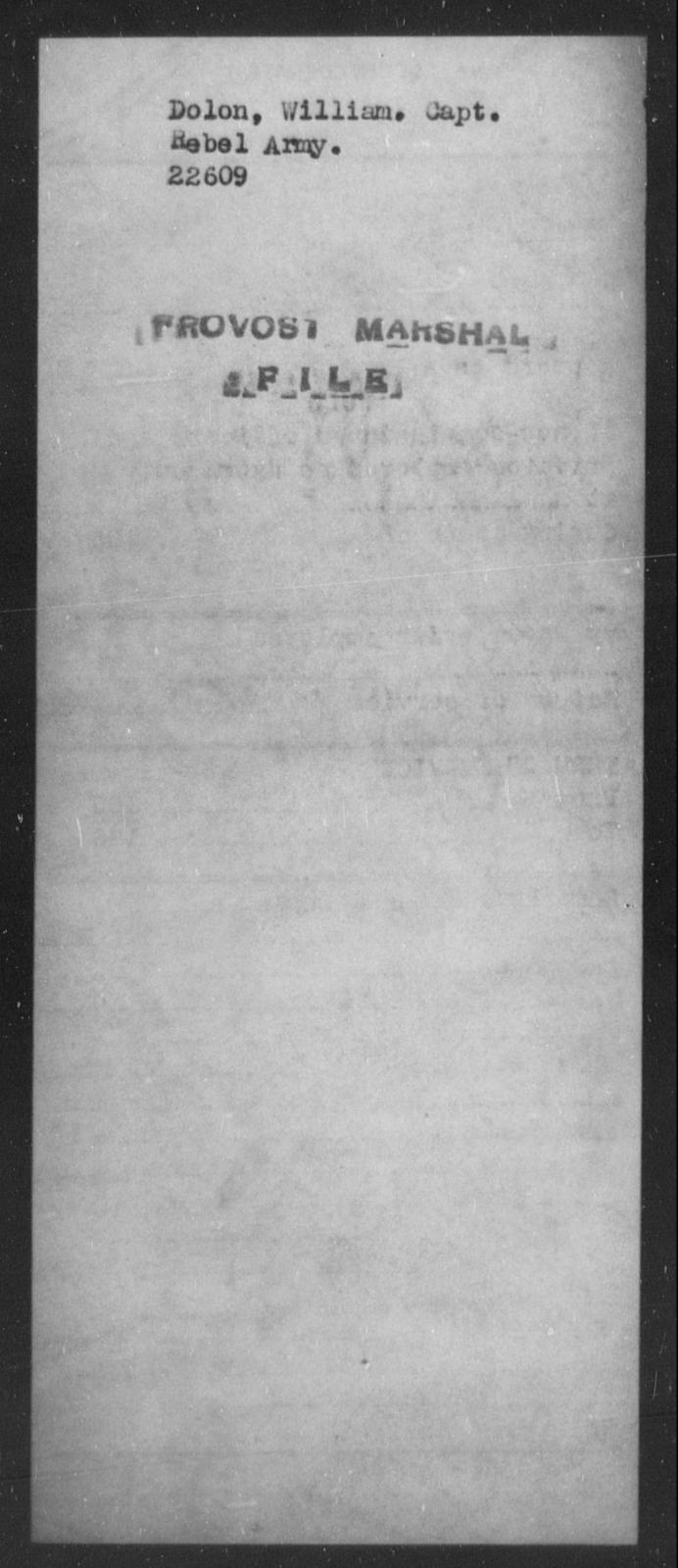 Dolon, William - State: [Blank] - Year: [Blank]