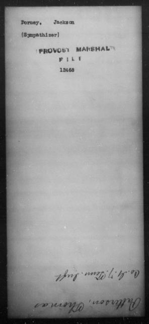 Dorney, Jackson - State: [Blank] - Year: [Blank]