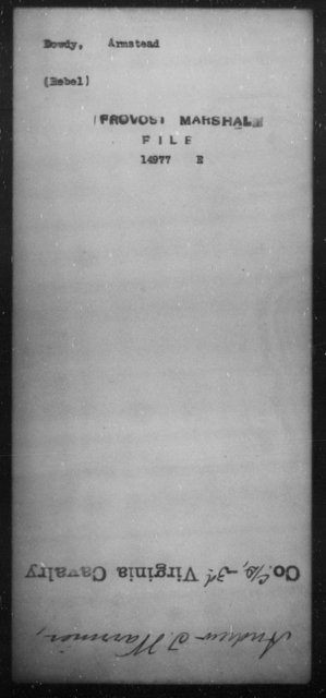 Dowdy, Armstead - State: [Blank] - Year: [Blank]