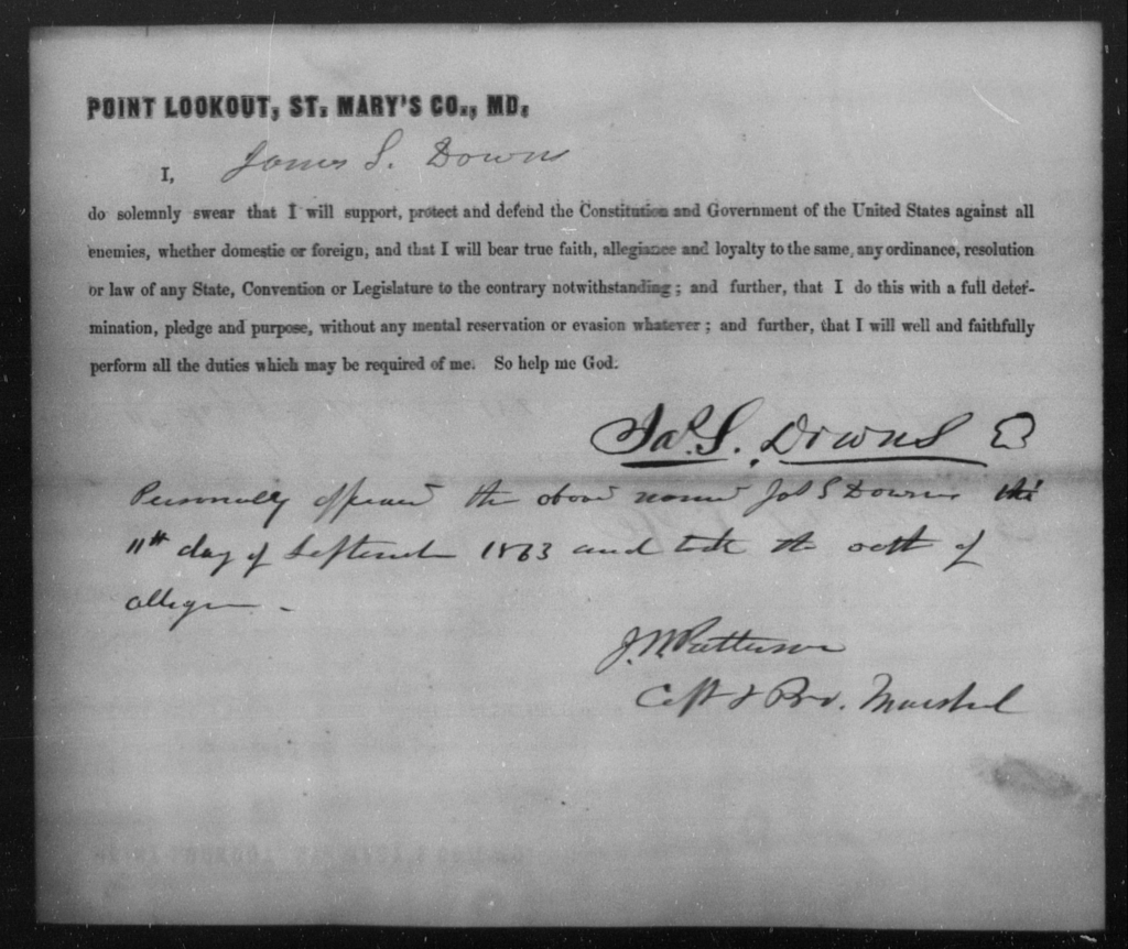 Downs, James S - State: Missouri - Year: 1863