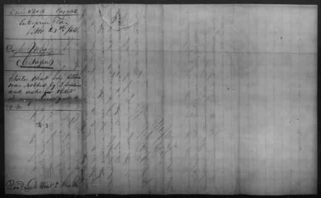 Doyle, M J - State: Florida - Year: 1866
