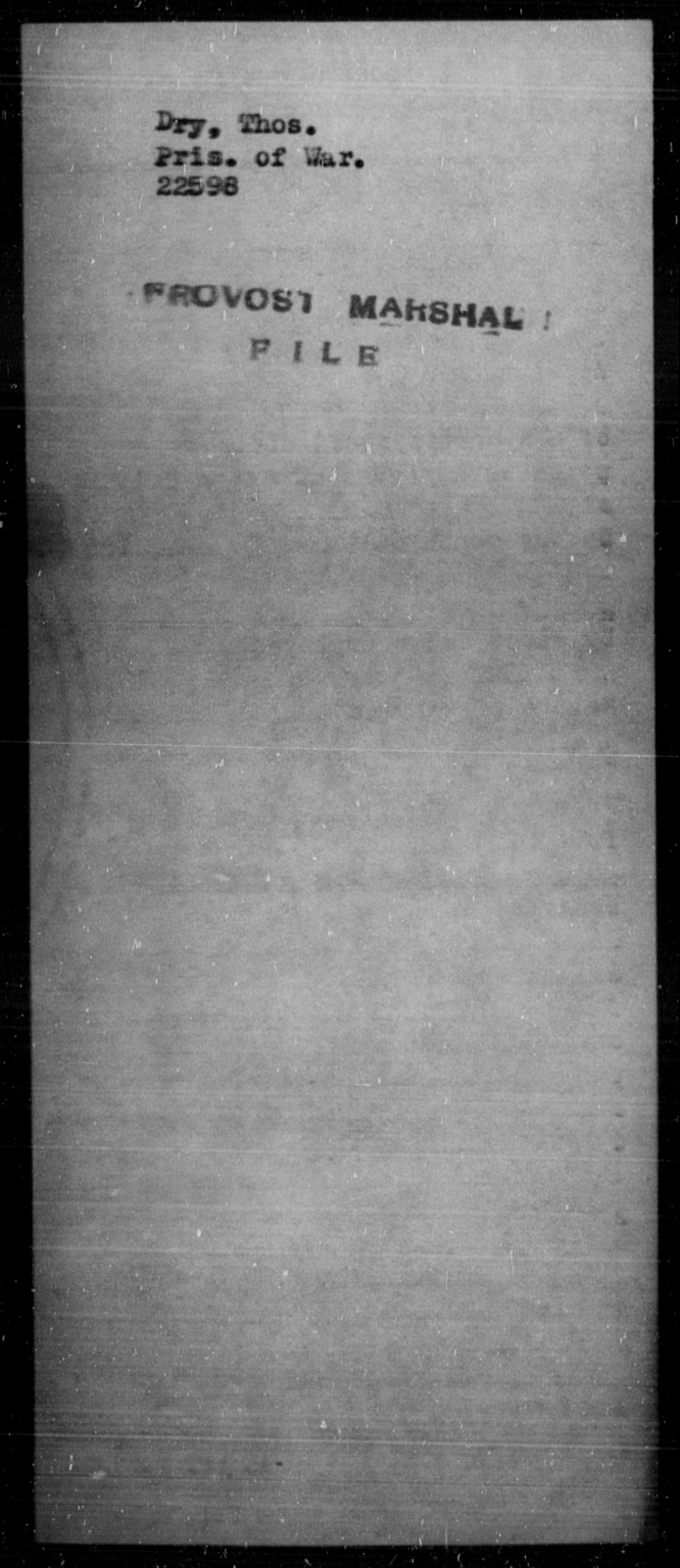 Dry, Thos - State: [Blank] - Year: [Blank]