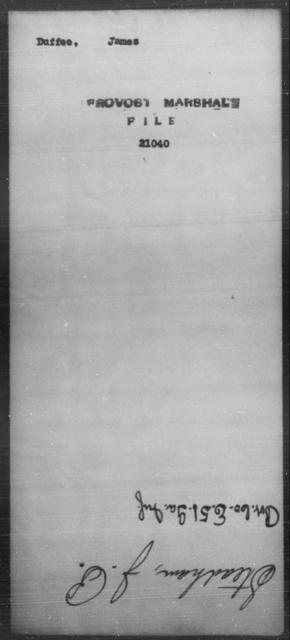 Duffee, James - State: [Blank] - Year: [Blank]