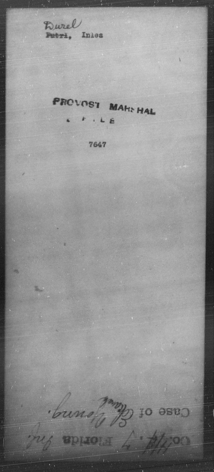 Durel, Inles - State: [Blank] - Year: [Blank]