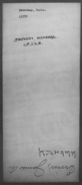 Duverney, Paris - State: [Blank] - Year: [Blank]