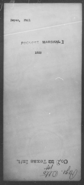 Dwyer, Phil - State: [Blank] - Year: [Blank]