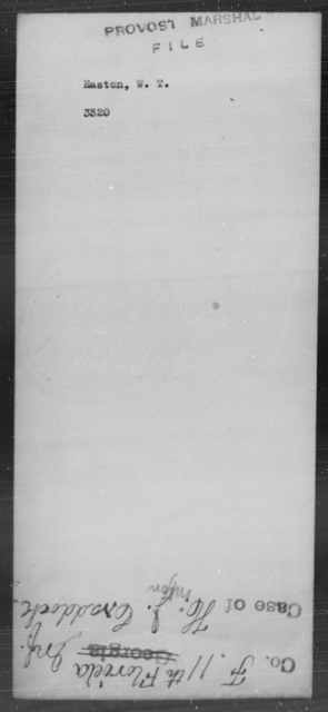 Easton, W T - State: [Blank] - Year: [Blank]