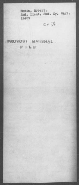 Ennis, Robert - State: [Blank] - Year: [Blank]
