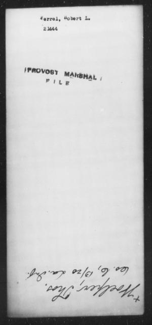 Ferrel, Robert L - State: [Blank] - Year: [Blank]