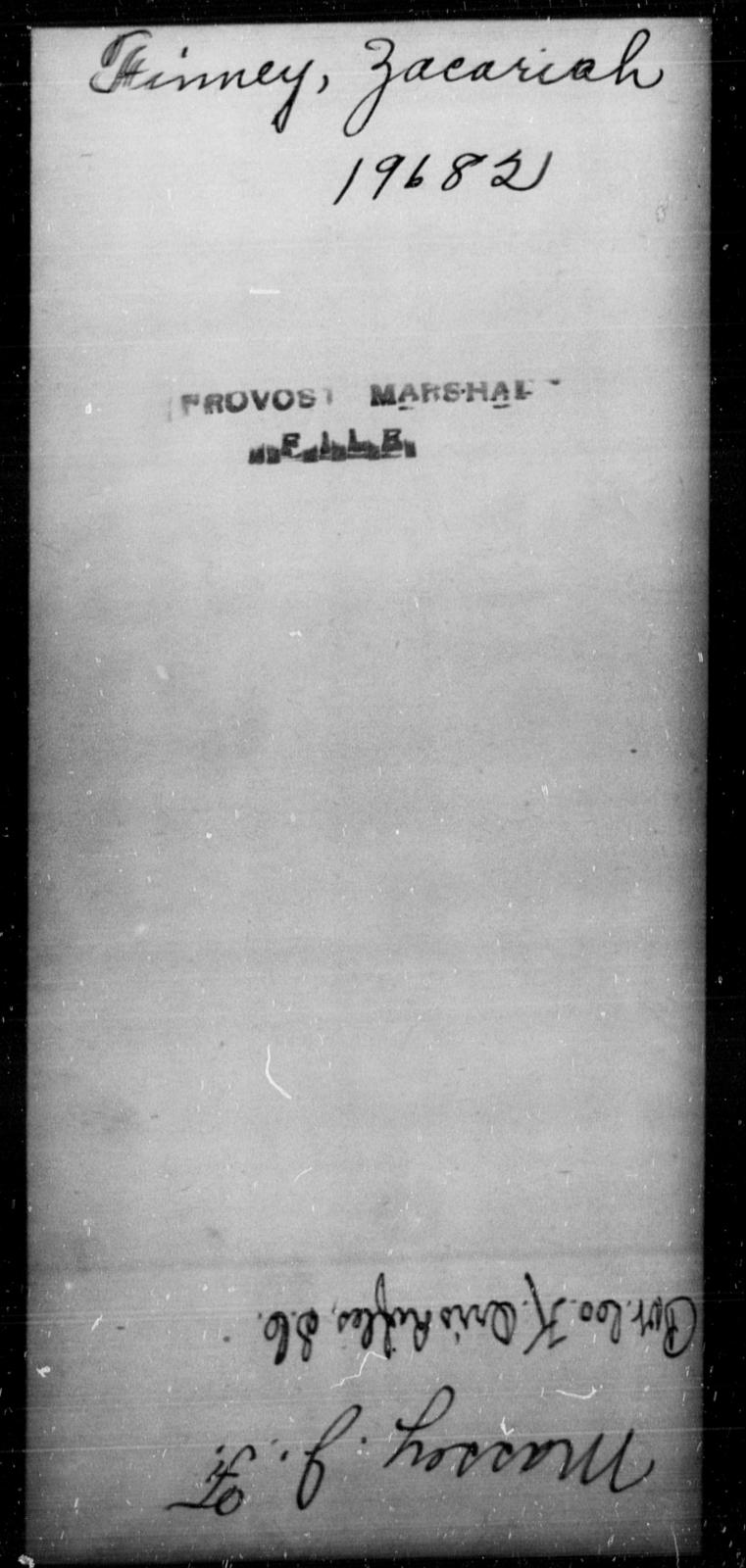 Finney, Zacariah - State: [Blank] - Year: [Blank]