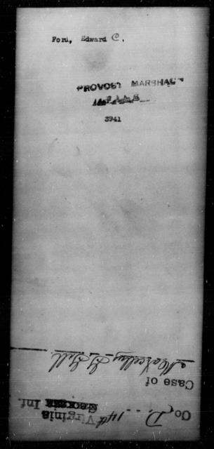Ford, Edward C - State: [Blank] - Year: [Blank]
