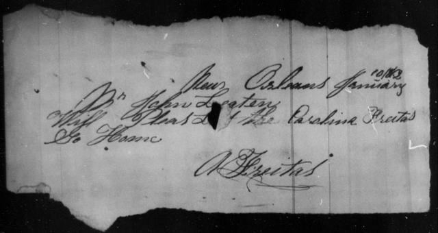 Freitas, Caroline - State: [Blank] - Year: 1863