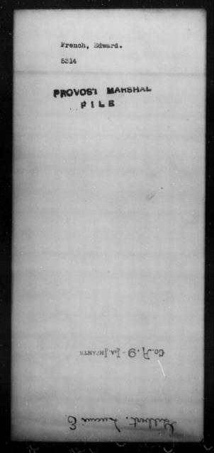 French, Edward - State: [Blank] - Year: [Blank]