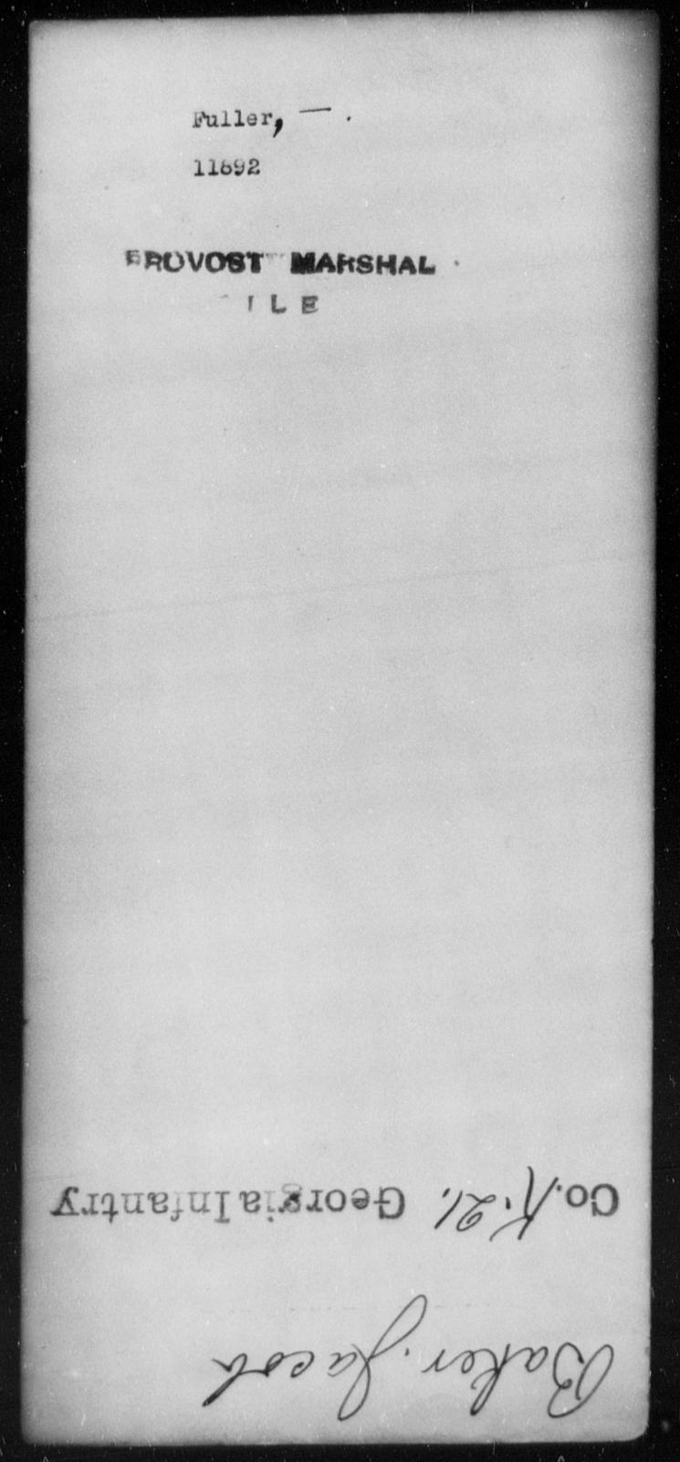 Fuller, [Blank] - State: [Blank] - Year: [Blank]