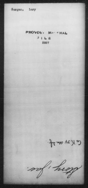 Gargan, Lary - State: [Blank] - Year: [Blank]