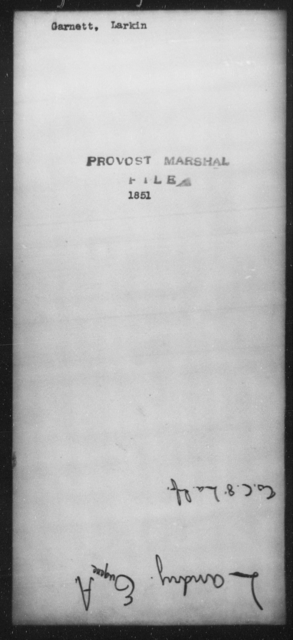 Garnett, Larkin - State: [Blank] - Year: [Blank]
