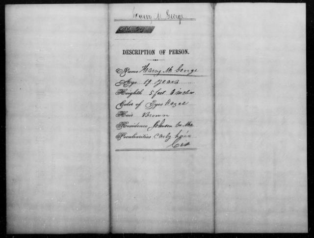 George, Harry M - State: Missouri - Year: [Blank]