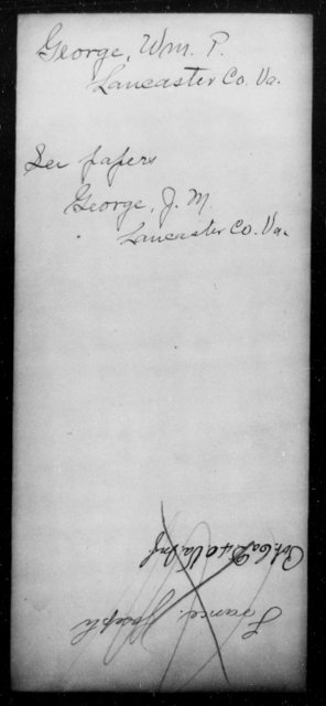 George, Wm P - State: Virginia - Year: [Blank]