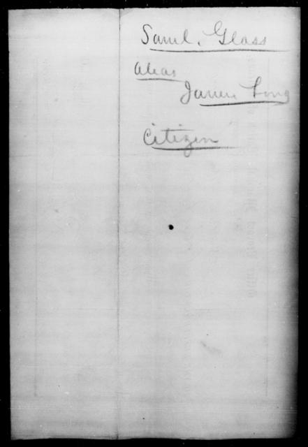 Glass, Saml - State: Tennessee - Year: 1865