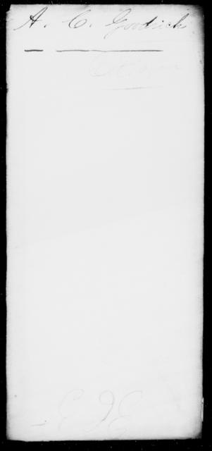 Goodrich, A C - State: [Blank] - Year: 1863