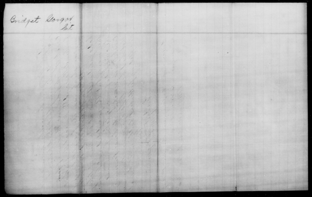 Gorgar, Bridget - State: [Blank] - Year: 1863