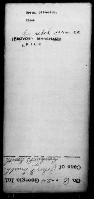 Green, Silverton - State: [Blank] - Year: [Blank]