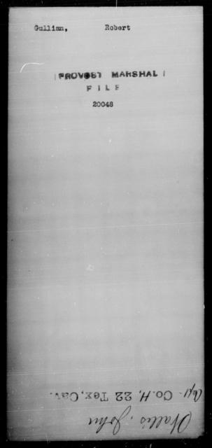 Gullian, Robert - State: [Blank] - Year: [Blank]