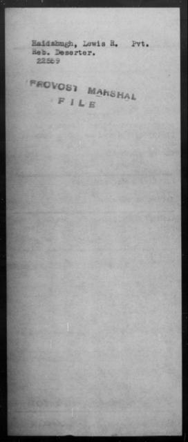 Haidahugh, Lewis R - State: [Blank] - Year: [Blank]