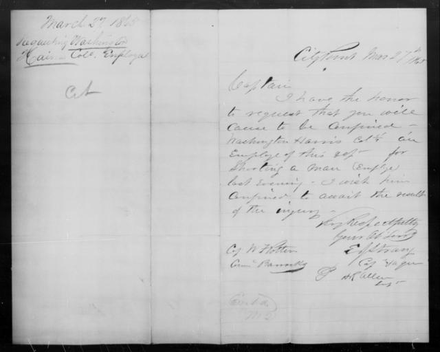 Haines, Washington - State: [Blank] - Year: 1865