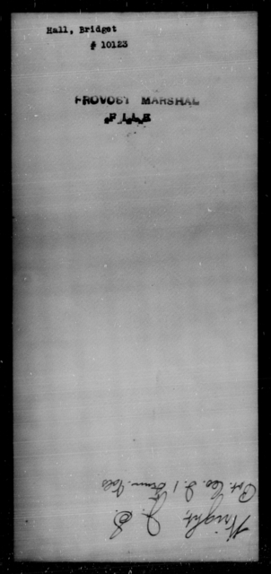 Hall, Bridget - State: [Blank] - Year: [Blank]