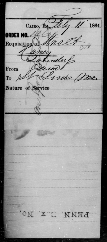Haney, A - State: Illinois - Year: 1864