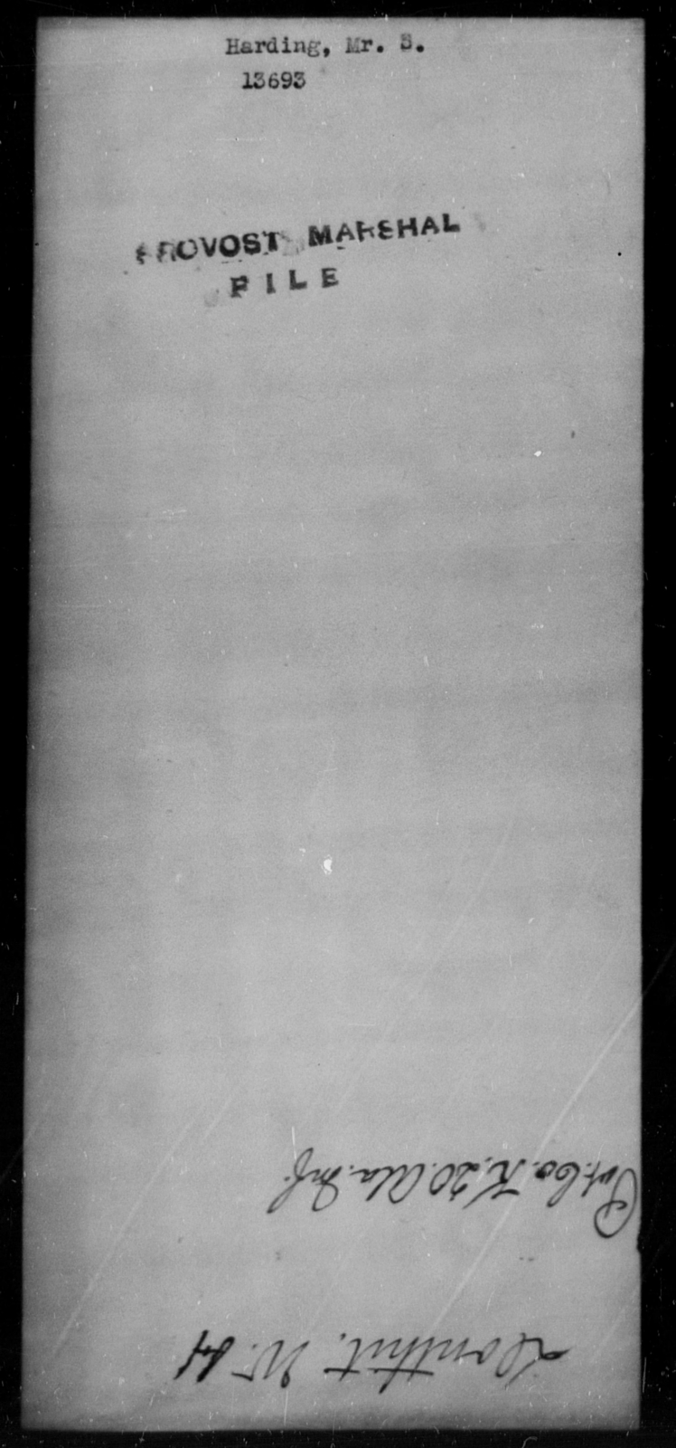 Harding, S - State: [Blank] - Year: [Blank]