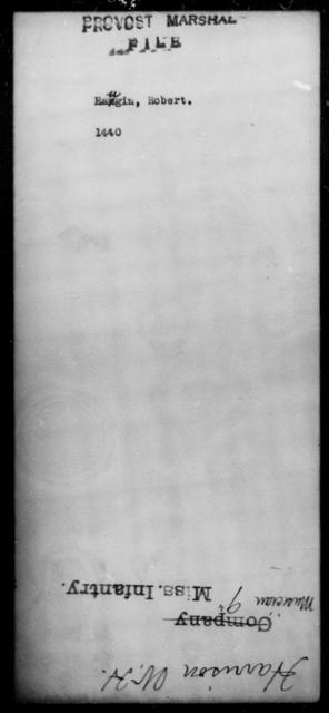 Haugin, Robert - State: [Blank] - Year: [Blank]