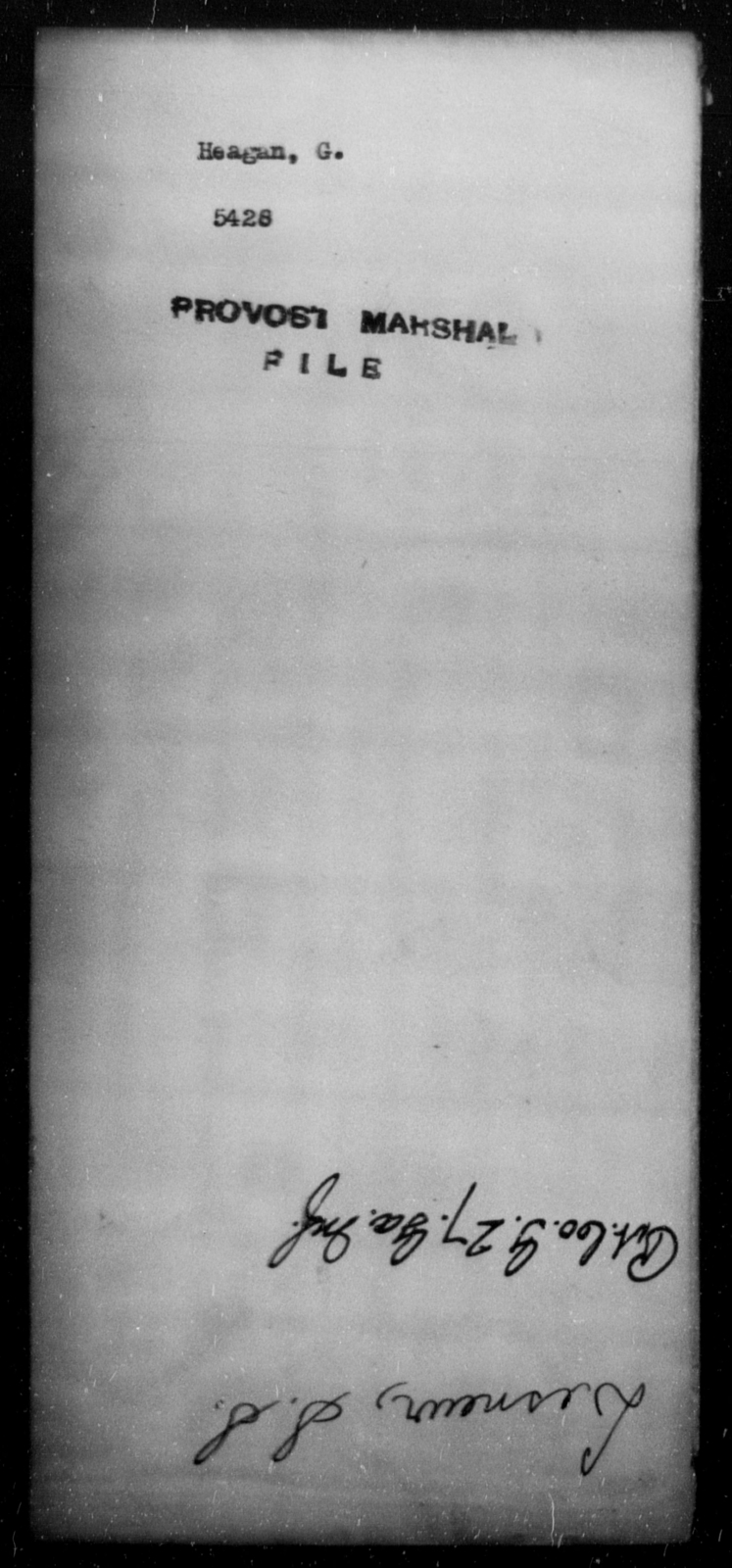 Heagan, G - State: [Blank] - Year: [Blank]